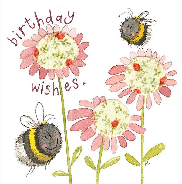 Busy Bees Alex Clark 2020 Calendar: Birthday Bees Card