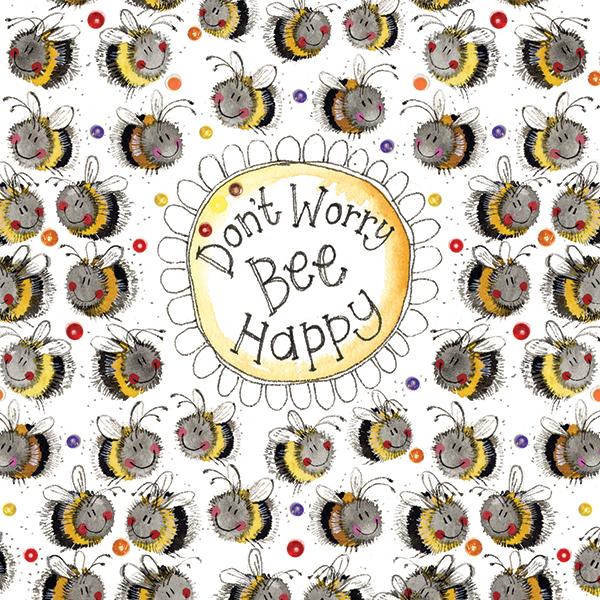 Busy Bees Alex Clark 2020 Calendar: Don't Worry Bee Card