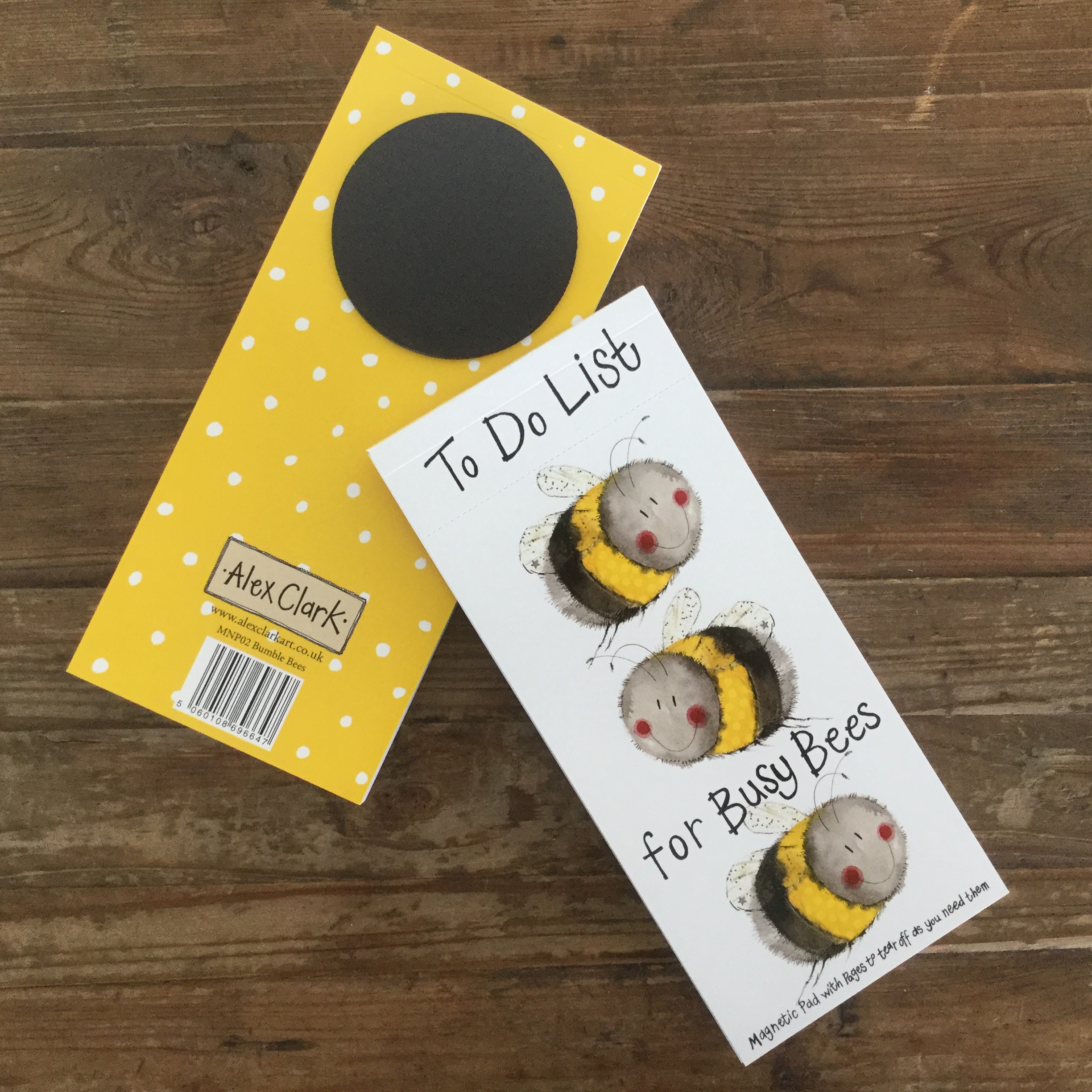 Busy Bees Alex Clark 2020 Calendar: Bumble Bees Magentic To Do Lists
