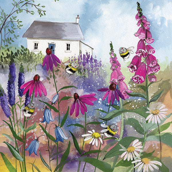 Busy Bees Alex Clark 2020 Calendar: Bee Garden Blank Card