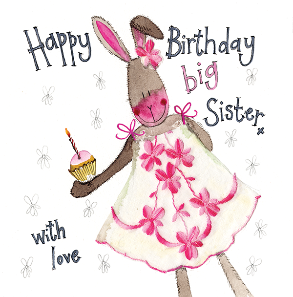 Catalog WEBSITE SPARKLE S220 Big Sister Rabbit Birthday