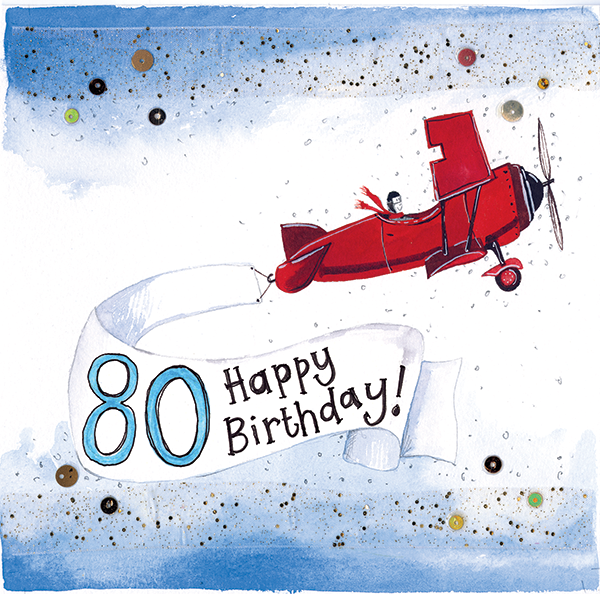 Catalog WEBSITE SPARKLE S243 80 Year Old Aeroplane