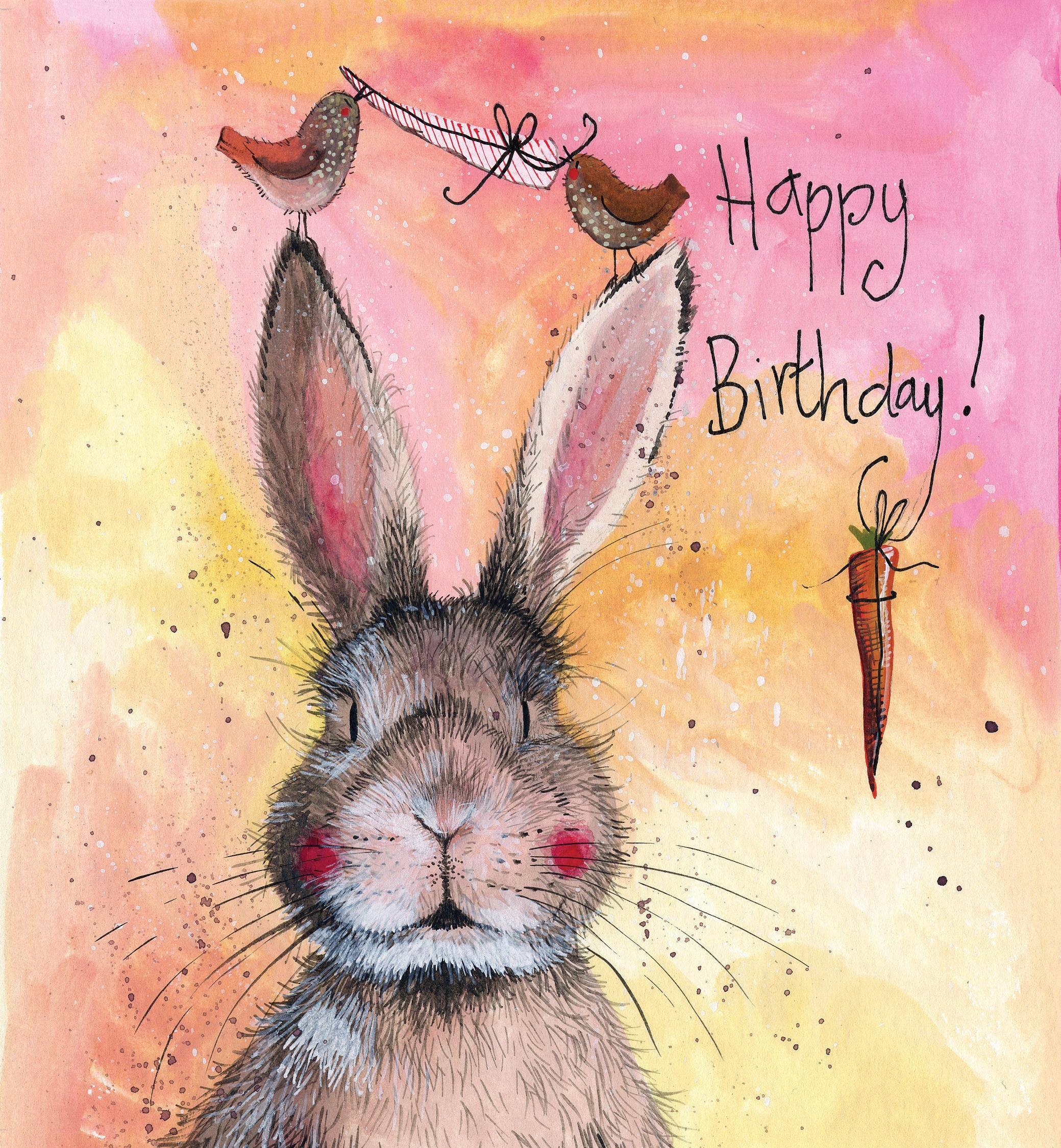 Картинки день рождения кролики